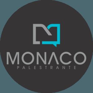 Logo Palestrante Monaco Preto